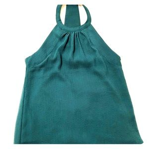 H&M Turquoise Halter Top Size 6